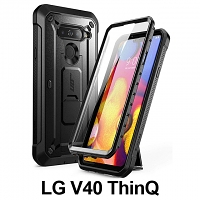 Supcase Unicorn Beetle Pro Rugged Holster Case for LG V40 ThinQ