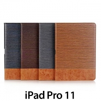 iPad Pro 11 Two-Tone Leather Flip Case