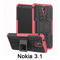 Nokia 3.1 Hyun Case with Stand