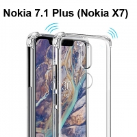 Imak Shockproof TPU Soft Case for Nokia 7.1 Plus (Nokia X7)