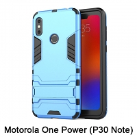 Motorola One Power (P30 Note) Iron Armor Plastic Case