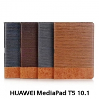 Huawei MediaPad T5 10.1 Two-Tone Leather Flip Case