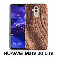 Huawei Mate 20 Lite Woody Patterned Back Case