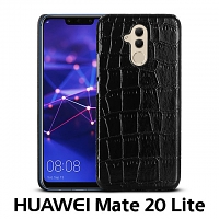 Huawei Mate 20 Lite Crocodile Leather Back Case