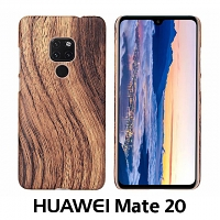 Huawei Mate 20 Woody Patterned Back Case