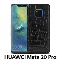 Huawei Mate 20 Pro Crocodile Leather Back Case
