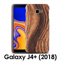 Samsung Galaxy J4+ (2018) Woody Patterned Back Case