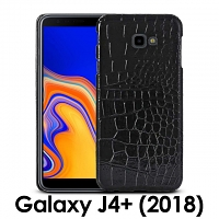 Samsung Galaxy J4+ (2018) Crocodile Leather Back Case