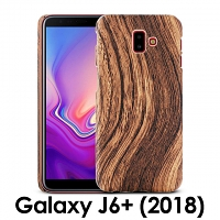 Samsung Galaxy J6+ (2018) Woody Patterned Back Case
