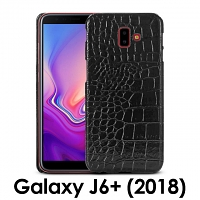 Samsung Galaxy J6+ (2018) Crocodile Leather Back Case