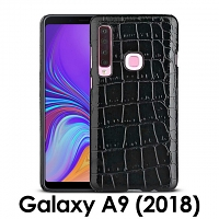 Samsung Galaxy A9 (2018) Crocodile Leather Back Case