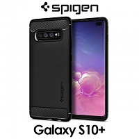 Spigen Rugged Armor Case for Samsung Galaxy S10+