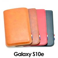 Samsung Galaxy S10e Leather Sleeve