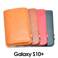 Samsung Galaxy S10+ Leather Sleeve
