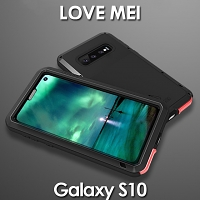 LOVE MEI Samsung Galaxy S10 Powerful Bumper Case