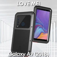 LOVE MEI Samsung Galaxy A9 (2018) Powerful Bumper Case