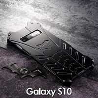 Samsung Galaxy S10 Bat Armor Metal Case