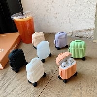 Round Suitcase AirPods Case