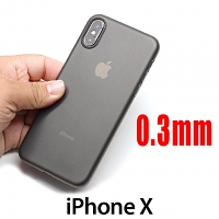 iPhone X 0.3mm Ultra-Thin Back Hard Case