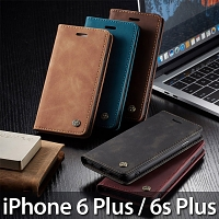 iPhone 6 Plus / 6s Plus Retro Flip Leather Case