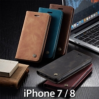 iPhone 7 / 8 Retro Flip Leather Case