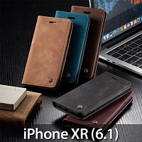 iPhone XR (6.1) Retro Flip Leather Case