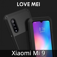 LOVE MEI Xiaomi Mi 9 Powerful Bumper Case