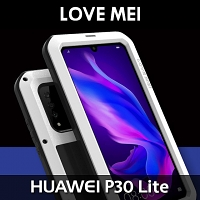 LOVE MEI Huawei P30 Lite Powerful Bumper Case