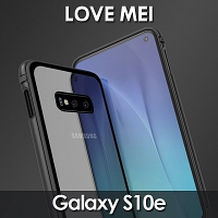 LOVE MEI Shadow Series Tempered Glass Case for Samsung Galaxy S10e