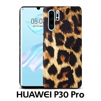 Huawei P30 Pro Embossed Leopard Stripe Back Case
