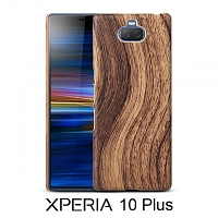 Sony Xperia 10 Plus Woody Patterned Back Case