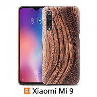 Xiaomi Mi 9 Woody Patterned Back Case