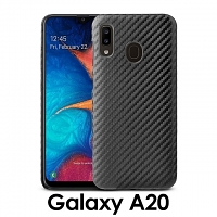Samsung Galaxy A20 Twilled Back Case
