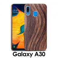 Samsung Galaxy A30 Woody Patterned Back Case