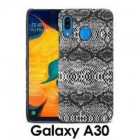 Samsung Galaxy A30 Faux Snake Skin Back Case