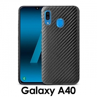Samsung Galaxy A40 Twilled Back Case