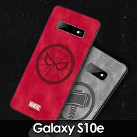 Marvel Series Fabric TPU Case for Samsung Galaxy S10e