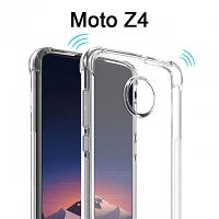 Imak Shockproof TPU Soft Case for Motorola Moto Z4