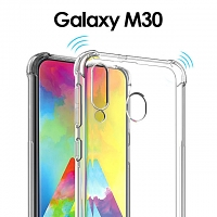 Imak Shockproof TPU Soft Case for Samsung Galaxy M30/A40s