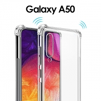 Imak Shockproof TPU Soft Case for Samsung Galaxy A50