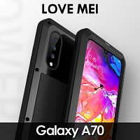 LOVE MEI Samsung Galaxy A70 Powerful Bumper Case