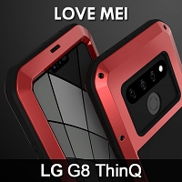 LOVE MEI LG G8 ThinQ Powerful Bumper Case