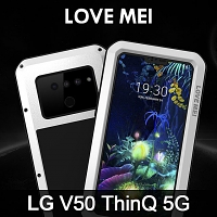 LOVE MEI LG V50 ThinQ 5G Powerful Bumper Case
