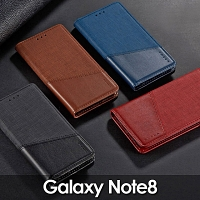 Samsung Galaxy Note8 Canvas Flip Card Case