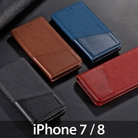 iPhone 7 / 8 Canvas Flip Card Case