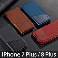 iPhone 7 Plus / 8 Plus Canvas Flip Card Case