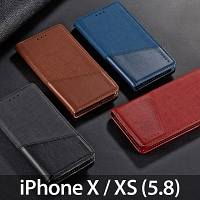 iPhone X / XS (5.8) Canvas Flip Card Case