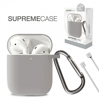 Amazingthing Supreme Flow Case for AirPods - Gray