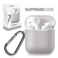Amazingthing Supreme Guard Case for AirPods - Gray
