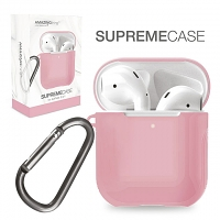 Amazingthing Supreme Guard Case for AirPods - Pink